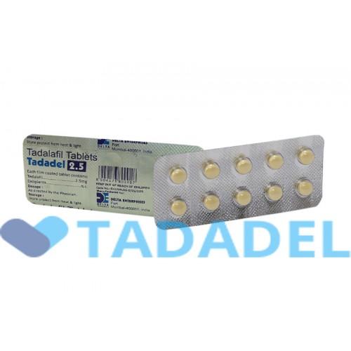 Сиалис 2.5 мг (Tadadel 2.5 mg)